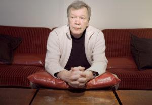 Juha Myllymäen dokumenttia varten ottama kuva kirjailija Viktor Jerofejevista.