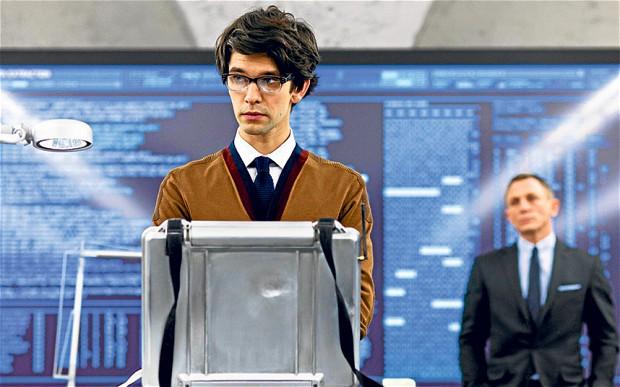 Ben Whishaw on uusi tuloas Bond-elokuvien näyttelkijäkaartissa. Taustalla Daniel Craig. Kuva Matthew Harkin